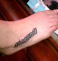 Creative Foot Tattoo