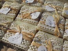 unique wedding favor idea - all natural soap! @Carrie Mcknelly Johnson Ciao @ Chiangmai