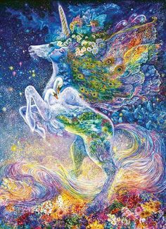 """""""Soul of the Unicorn"""" by Josephine Wall"""