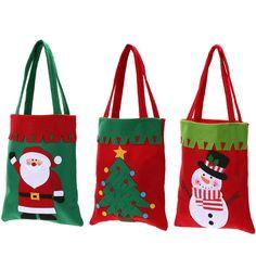 1 unids Libro Titular Bolsillos Bolso de Regalo de Navidad Bolsas de Dulces Suministros Adorno De Navidad la Decoración del Hogar Creativo de Navidad Bolsa de Regalo