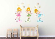 Cute Ballerinas Wall Decal