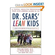 Dr Sears Lean Kids....adding this to my list to read...