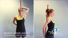 Exercices pour capsulite de l'épaule