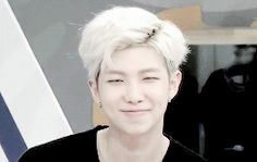 kim nam joon smile - Google Search