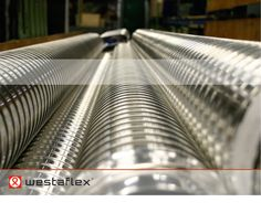 flexible tubes since 1933 Flexible Tubing, Flexibility, Old Things, Industrial, Fabric, Products, Tejido, Back Walkover, Industrial Music