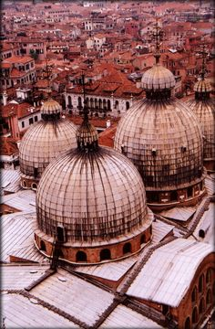View from campanile in San Marco - Venice- Bailey Zimmerman. Venetian red collection by @Linda Zimmerman