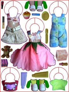LALA * 1500 free paper dolls from artist Arielle Gabriel The International Paper Doll Society for Pinterest paper doll pals *