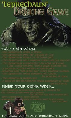 i couldn t find a good horror movie drinking game so i made my own
