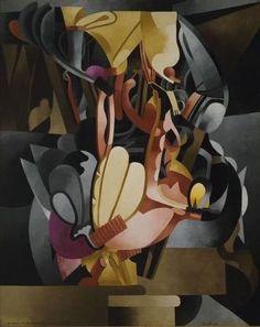 Picabia. I See Again in Memory My Dear Udnie (1914)