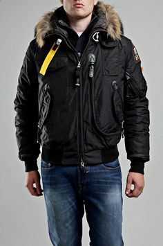 parajumpers big bend-m jacket down coat black