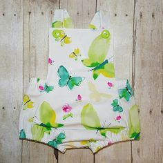 Check out this item in my Etsy shop https://www.etsy.com/listing/509763686/watercolor-butterfly-romper-gender