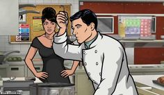 Archer S4E7: Live and Let Dine by Will Judy on Blue Blood http://ameliag.com/2013/02/archer-s4e7-live-and-let-dine-by-will-judy-on-blue-blood/