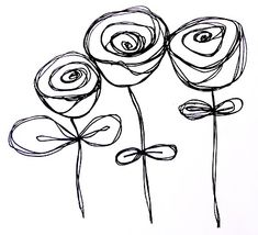 Flores - http://artbyerinleigh.blogspot.com/2010/06/more-doodling.html