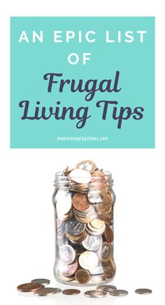 Are you struggling with how to save money? Check out these simple 125 frugal living tips to save money fast. Money Saving Tips Money Saving Challenge, Money Saving Tips, Saving Ideas, Frugal Living Tips, Frugal Tips, Savings Jar, Travel Money, Money Fast, Tight Budget
