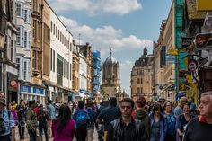 Busy Streets - Busy streets of Oxford, United Kingdom