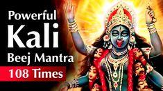 Maha Kali Beej mantra 108 Times | Devi kali beej Mantra | Kali beej mant... Vedic Mantras, Hindu Mantras, Spirituality Books, Durga Maa, Religion, Prayers, Universe, Healing, God