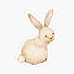 Cool Stickers, Funny Stickers, Hunting Bags, School Accessories, Cute Bunny, Transparent Stickers, Glossier Stickers, Gifts For Girls, Easter Bunny