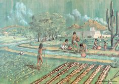 The Hohokam disappeared from their villages near the Salt and Gila Rivers around 1450 CE. Their descendants survive as members of the Tohono O'odham Nation.