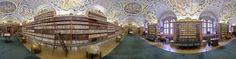 This is a 360º gigapixel panorama photo of the Strahov Theological Library in Prague. It was shot with a Canon 550d camera and 50mm lens during one afternoon in December 2010. The final panorama size is 2 gigapixels. The librarys extensive Baroque decoration was recently renovated, and this panorama was shot immediately after it was reopened. Strahov Monastery was built in 1140 by King Vladislav II. In 1143, some monks (and their books) m...