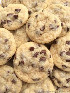 mini chocolate chip cookie bites