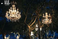 Image result for chandelier in trees