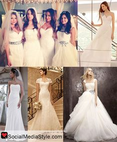 Pretty Little Liars Wedding Gowns. I think if or when I get married. I'd go for the Emily type of gown.
