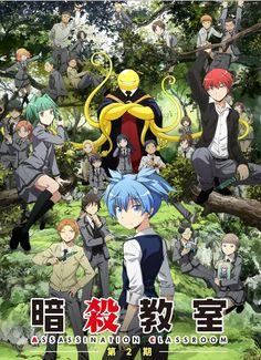 Anunciados los nuevos temas de la segunda temporada de Ansatsu Kyoushitsu.