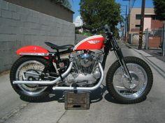 Image Detail for - 1960′s Harley Davidson Factory XLR ‹ Yoshi's Garage