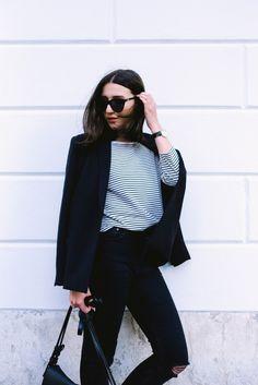 Wardrobe Essentials | The oversized Blazer | Basic Apparel