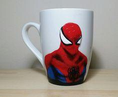 #spiderman#polymerclaymug#polymerclayart#handmade#