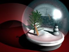snow globe photo: snow globe snowglobe.jpg