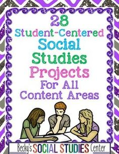 Social Studies Project Based Learning - Fully EDITABLE This bundle of interactive activities & lessons will make social studies engaging & meaningful for your fifth, sixth, seventh, eighth, ninth 7th Grade Social Studies, Social Studies Curriculum, Social Studies Classroom, Social Studies Activities, Teaching Social Studies, Teaching History, Interactive Activities, History Activities, History Education