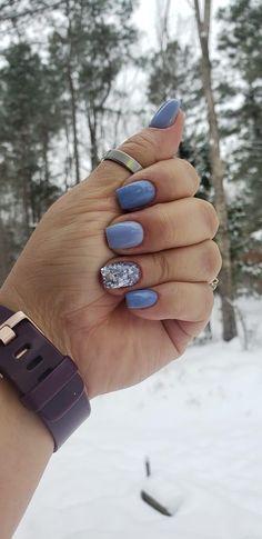 Dipped Nails, Mani Pedi, Nail Inspo, Nail Colors, Fairytale, Sapphire, Rings, Fun, Jewelry