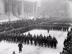 The 1918 NYC George Washington Day Parade cool New York Photo 1309-09