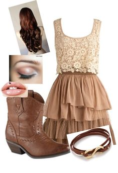 """Country Cutie"" by sabfashion ❤ liked on Polyvore"