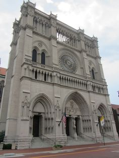 St. Mary's Cathedral Basilica of the Assumption, Covington, KY - Looks like Notre Dame at 1/3 the size!  One of the largest stained glass windows in the world.