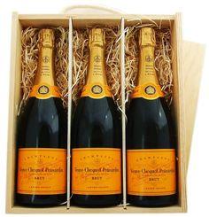 Veuve Clicquot gift set.