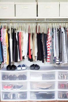 Closet Organization 5 Easy Tips From On Sutton Place Shoe Storage Small