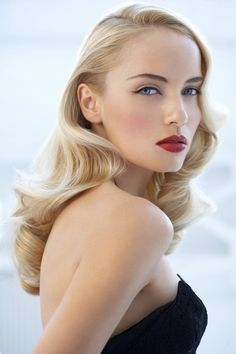 Trying to decide whether to go with the red lip/ Art Deco look or soft pinks/neutral hues...