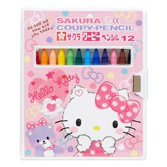 Hello Kitty Sakura Kupi (R) 12 color pencil Sanrio online shop - official mail order site