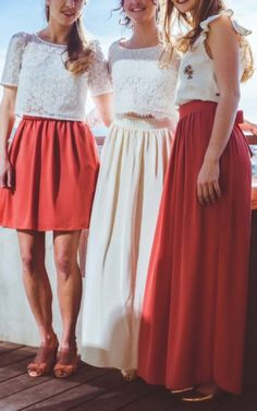 Jupes | Les Jupons de Louison Facon, Lace Skirt, Marie, Skirts, Silhouette, Wedding Ideas, Budget, Colorful Weddings, Flowy Skirt