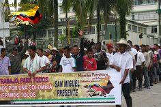 Bereits 29 Mitglieder von Marcha Patriotica getötet » Foto: Putumayo Consejos Patrióticos Marcha Patriótica. Via Flickr/ ...