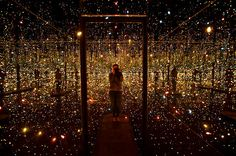 An Infinity of Lights: Photos From the New Yayoi Kusama Exhibit - NYTimes.com