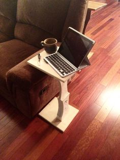 Adjustable Computer Stand by JacobWayneDesign on Etsy