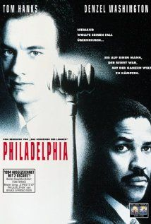 Philadelphia (1993)  Tom Hanks, Denzel Washington  excellent movie, excellent acting