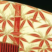 Ivory painted comb with gold lacquer, Japan
