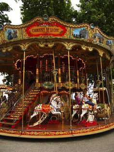 Carousels are filled with magical animals and colors that delight children the world over. Love for them does not always stop at childhood, however, as many adults continue to covet these rides well ...