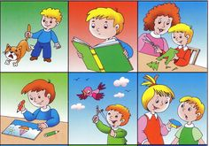 4to takoe horoscho - Aleiga V. - Picasa Web Albums School Clipart, Picture Story, Story Prompts, Cause And Effect, Preschool Kindergarten, Life Skills, Kids And Parenting, Card Games, Behavior