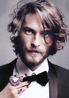 Wonderful Mens Hairstyles Long Wavy Hair - Mens Hairstyles