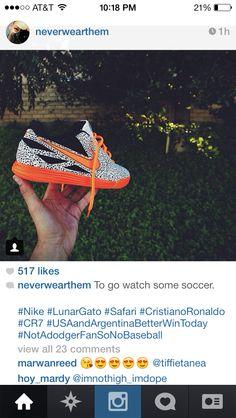Nike Lunar Gato safari